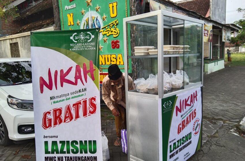 Perdana 'Nikah Gratis' Langkah LAZISNU Tanjunganom Bantu Warga Sekitar