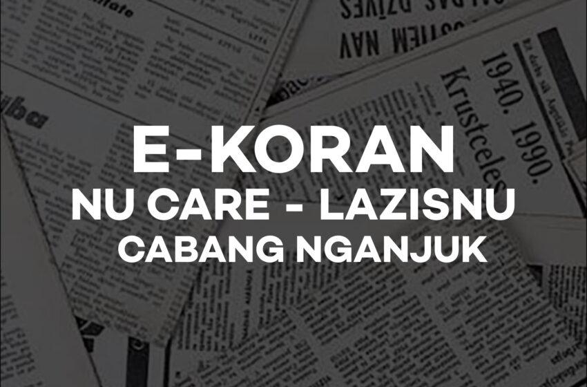 Edisi Desember 2020: E-Koran NU Care – LAZISNU Cabang Nganjuk