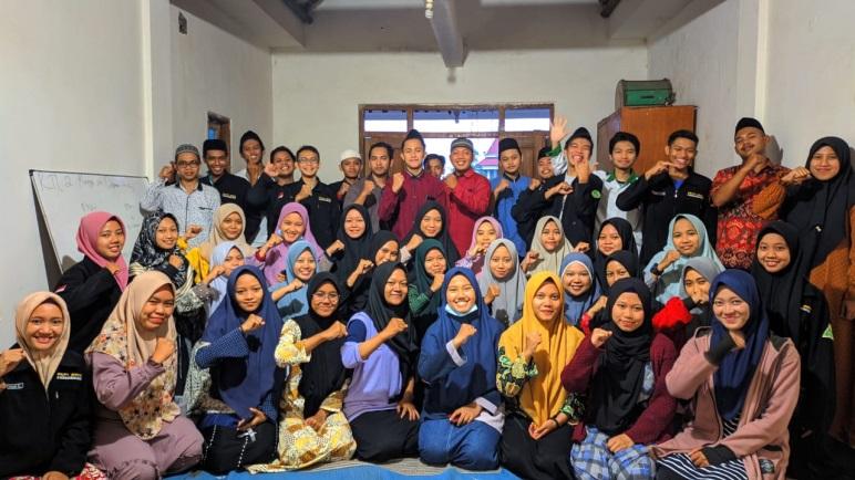 Ikhtiar PKPT Pelajar NU Nganjuk Perkuat Ikatan Kader