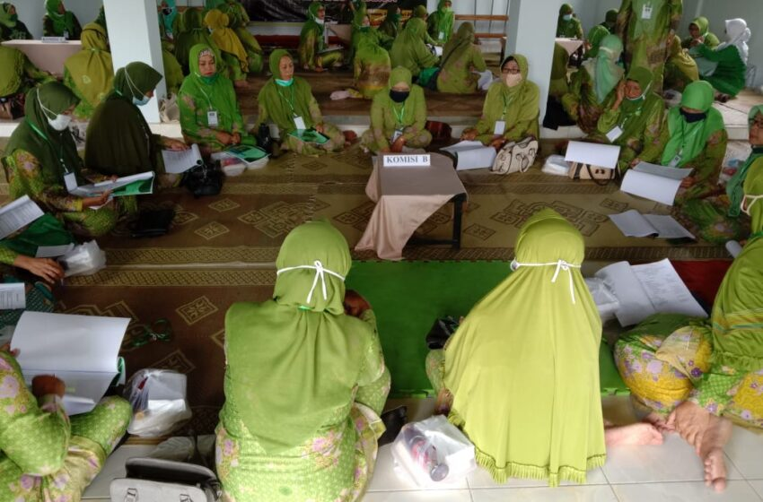 PAC Muslimat NU Tanjunganom Gelar Musyawarah Kerja