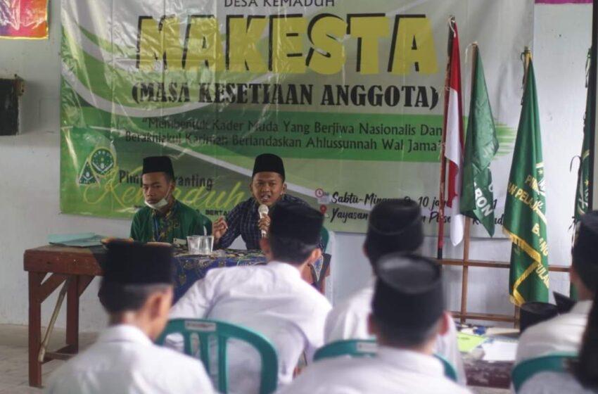 Pelajar NU Kemaduh Ajak Peserta Makesta Cinta Tanah Air