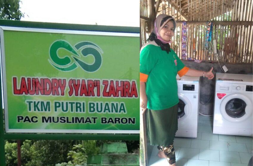Inilah Laundry Syariah Muslimat NU Baron, Seperti Apa?