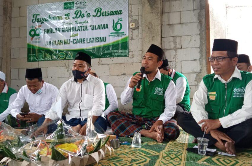 NU Lengkong: Harlah Ke -16 LAZISNU, Momentum untuk Bangkit