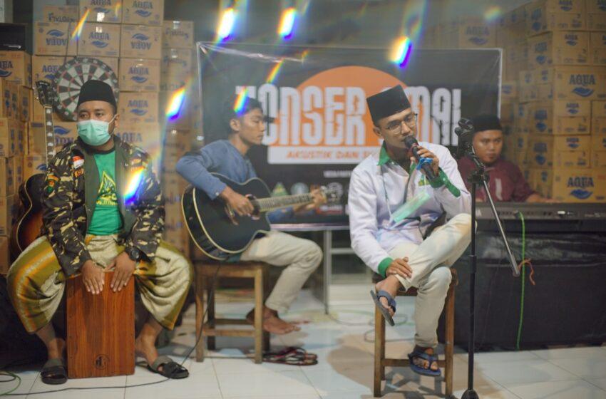 Sinergi BPP Masjid Nurul Huda Gelar Konser Amal Akustik dan Sholawat Peduli Nganjuk
