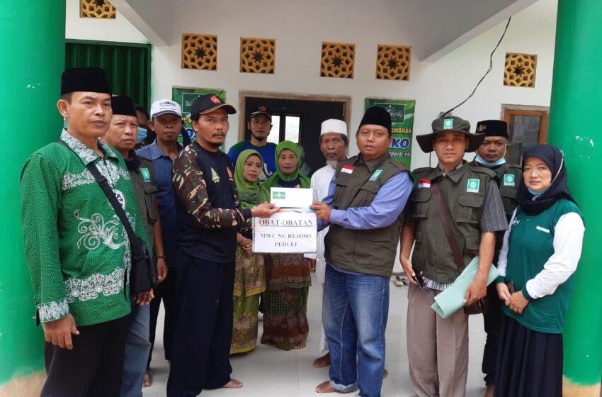 Bentuk Solidaritas, MWCNU Rejoso Salurkan Bantuan Logistik ke Sawahan