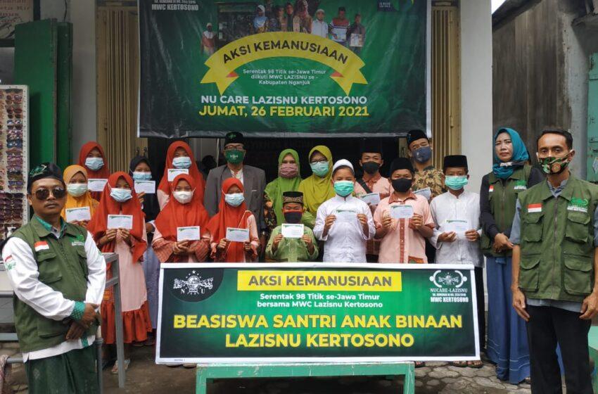 Intip Program LAZISNU se-Kabupaten Nganjuk Saat Aksi Kemanusiaan Serentak