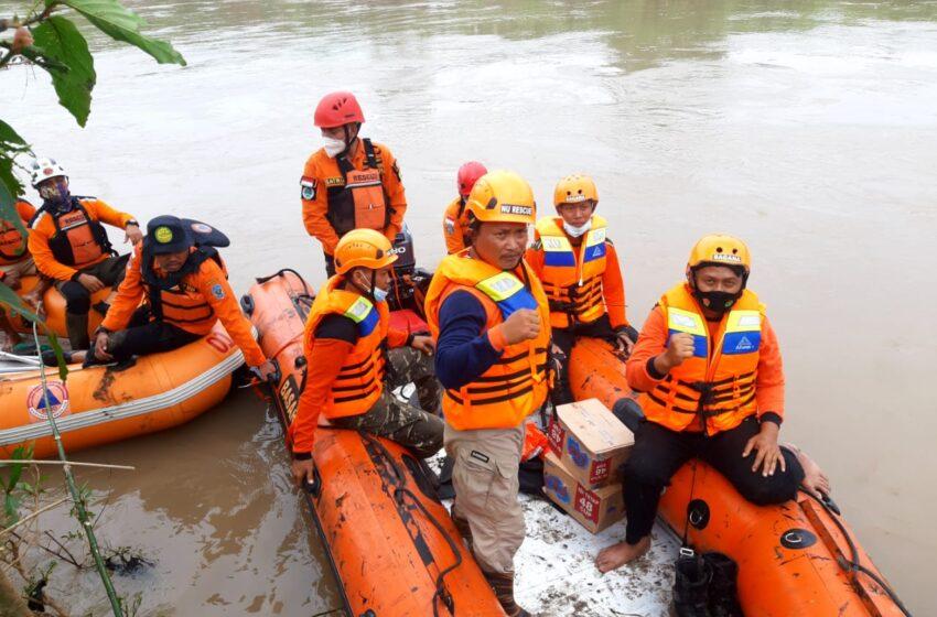 Bagana Nganjuk Terus Cari Korban Tenggelam di Sungai Widas