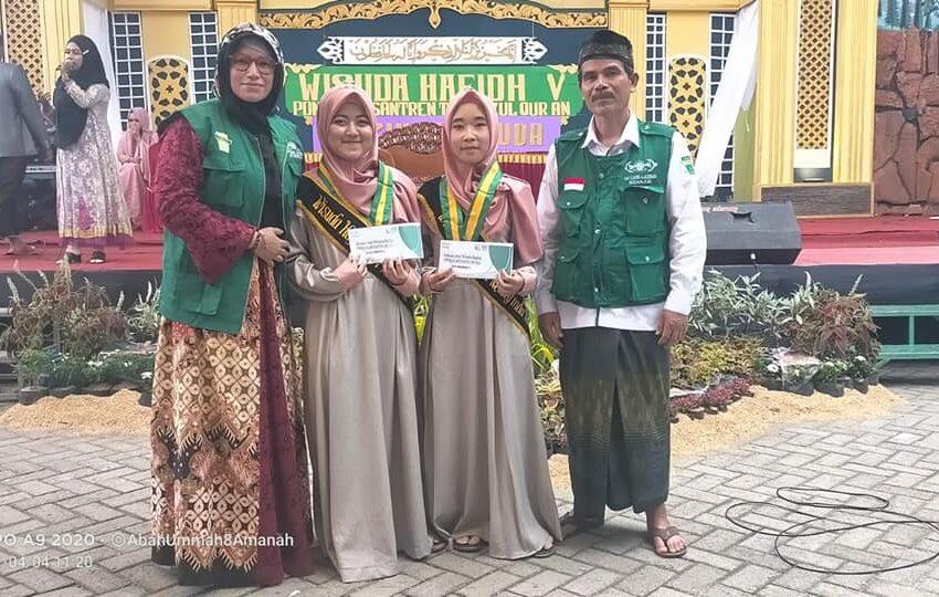 Wisudawati Anak Binaan LAZISNU Nganjuk Penghafal Al-Qur'an Jadi Nilai Plus