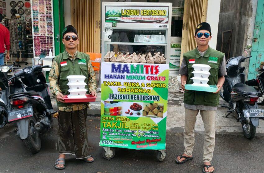 Selama Ramadan, LAZISNU Kertosono Siapkan Makanan Buka dan Sahur Untuk Masyarakat